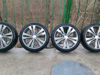 диски Mercedes + шины  225/40 R18
