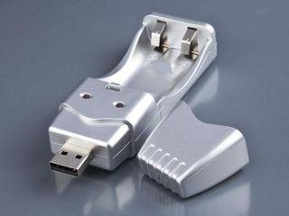 Incarcator pentru baterii USB!