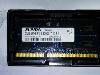 Sodimm DDR3 2GB - 89lei, DDR2 1GB - 29lei