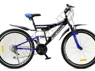 Bicicleta Racer Arise nexus 26 Black/Blue (Livrarea gratis ! Lichidare de stoc ! )