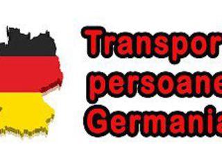 Moldova-Cehia-Germania transport pasageri/colete mergem la adresa 2soferi