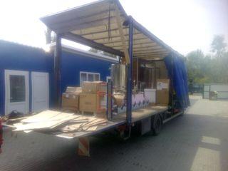 Transport marfa la comanda. Camion   5 T ,  40m3
