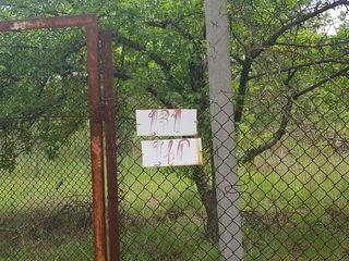Продам 12 км от Кишинева  два участка под дачу-дом.