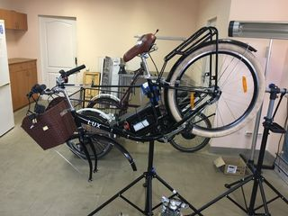 Raparatie bicicleta electrica /ремонт велосипедов электрических
