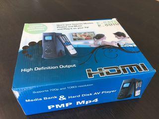 Media Bank & Hard Disk AV Player PMP MP4