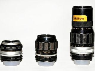 Nikon 50mm 1.4 + Nikkor 105mm f2.5 + Nikkor  200 mm  f 4