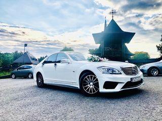 Mercedes-benz S-class 2014, chrie Nunta, авто на Свадьбу