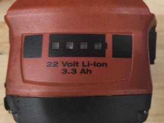 Аккумулятор Hilti 22v 3.3