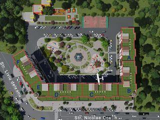 Квартиры 1-комнатные, от 540€ в новом комплексе Green Park