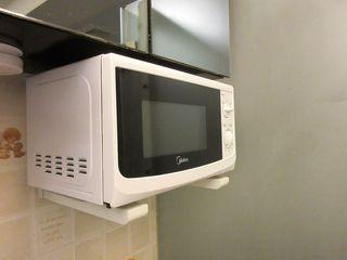 Кронштейн для микроволновки. Установка микроволновок на стену.