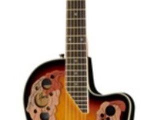 Chitara acustica Harley Benton HBO-850SB. Livrăm în toată Moldova,plata la primire.