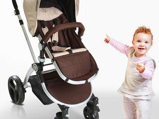 Детская коляска 2 в 1. Carucior.