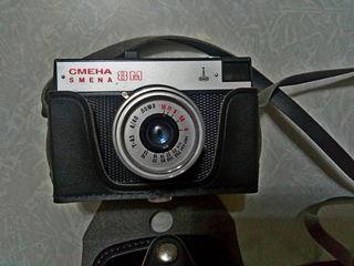 Фотоаппараты, фотовспышки, глянцеватель, оборудование для проявления плёнок и фотографий