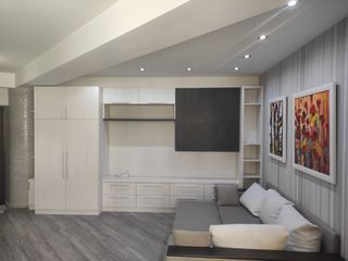 Apartament 54m. Bd. Alba Iulia, Buiucani, 1 cameră + living. Euroreparație