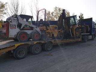 Servicii excavator, buldoexcavator,bobcat,miniexcavator,compactor,каток,Kamaz