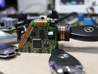 Выездная диагностика Mercedes, ремонт электроники Mercedes, программирование ключей.
