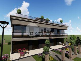 Duplex în 2 nivele, 173 mp + teren 3.5 ari, versiune albă, Cricova 103800 €!