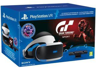 PlayStation 4.VR+камера+игра.