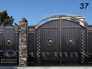 Ворота, заборы, перила, решётки, козырьки, металлические двери  и другие изделия из металла.