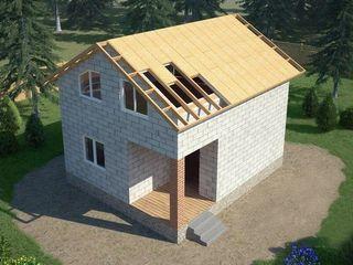 Reduceti costul constructiei! Construim etaje, masarde, cladiri auxiliare pe territoriul Moldovei.