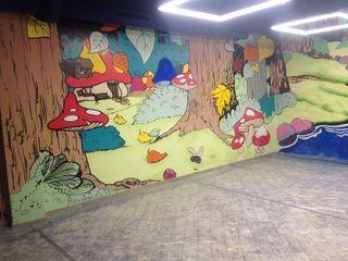 Граффити оформление интерьеров и экстерьеров на заказ, декорирование и персонализирование.