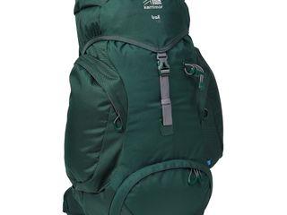 Оригинальный фирменный рюкзак Karrimor (Англия) вместимость 35 литров.Двойное дно.Цвет - изумруд.