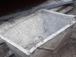 Ванна для бетона 500л