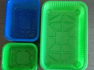 Caserole plastic pentru ciuperci, fructe, pomusoare. Producator autohton.