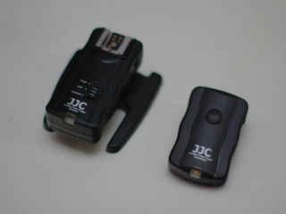 JJC flash trigger + reciver (Canon)