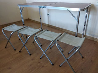 Masa picnic + scaune -  стол для пикника + стулья
