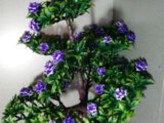 Бонсай дерево с цветами в камнях искуственный