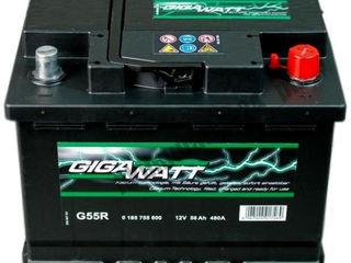 Acumulator Gigawatt(Cehia) 56AH 480A(EN) - Garantie 2 ani!!!