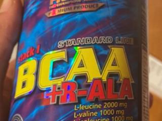 BCAA +R ALA и коробка для таблеток