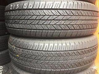 Продам шины Dunlop Grandtrek 215/60/R 17(б.у) и Continental 195/55/R 16 новые