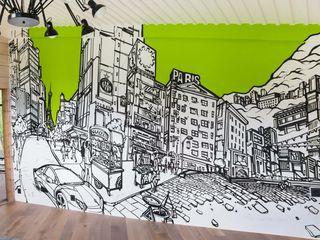 Граффити оформление интерьера. графика.дизайн.художественное оформление и роспись.graffiti.