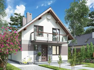 Новый современный дом с отделкой