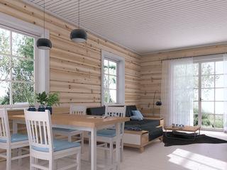 Новый тёплый дом с отделкой