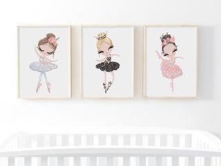 Балерины в детскую для маленькой принцессы!