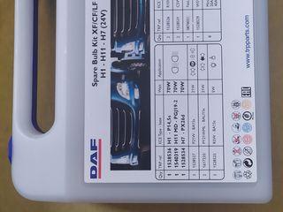 Продам комплект лампочек и предохранителей DAF XF CF LF