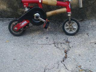 Велосипед на вырост от 3-4лет до 15