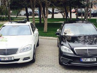 Chirie auto pentru Nunta!!! Mercedes E = 85€/zi, Mercedes S = 109€/zi
