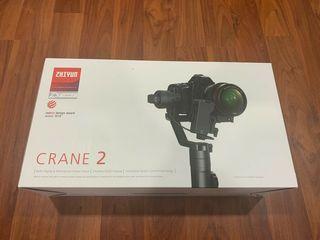 Zhiyun crane 2 + follow focus nou sigilat