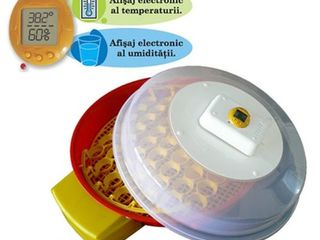 Incubator automat 51 ouă puisor x2 io-104  livrare gratuita +garantie 12 luni