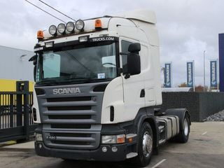Scania R420+Гидравлика