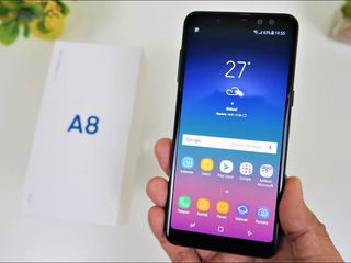 Samsung A8 Duos (2018) - Garantie 5 ani ! Credit !