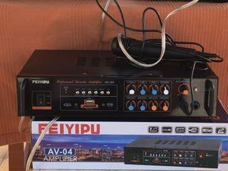 Profesoinall Karaoke,mixer-amplificator AV-308(1600 lei)