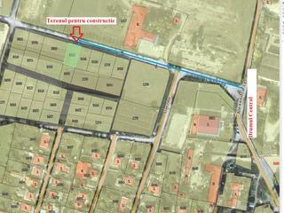 Teren constructie Ciorescu mun. Chisinau - 10km.