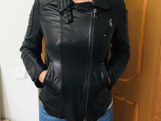 Кожаная куртка 100$