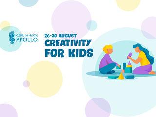 Tabără de creație Creativity for kids