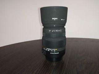 Sigma 50-200мм зум объектив на Canon